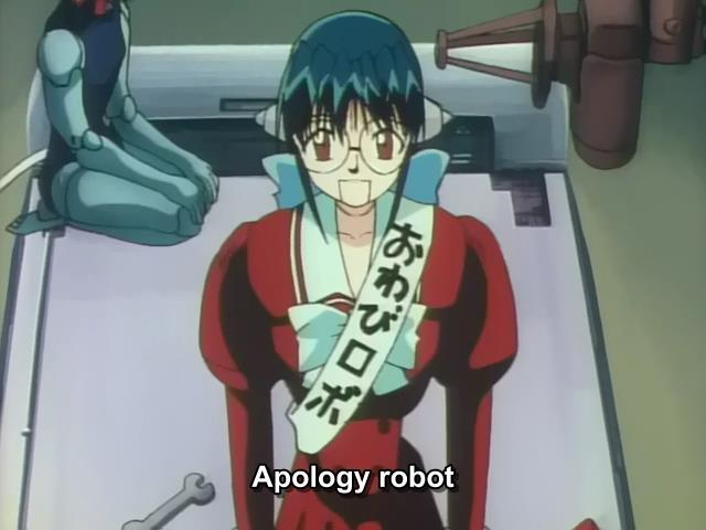 Apology Robot